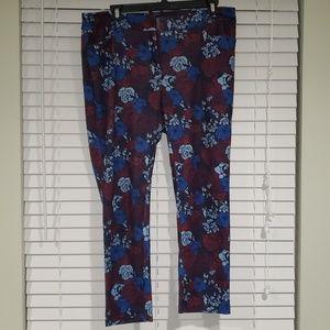 Eloquii Size 16 Floral Pants